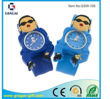 Gangnam Style silicone slap watches