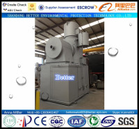 WFS-150 animal/ pet dead body incinerator, dual chambers burner, diesel oil or natural gas burning