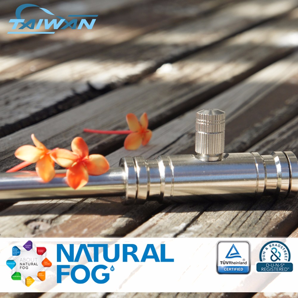 Taiwan Natural Fog Push In Fittings High Pressure Misting System