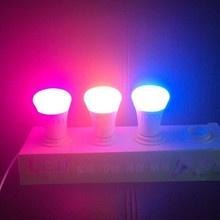 16000000 Colors wifi Controler Required Dimmable smart Bluetooth rgb led lighting smart bulb