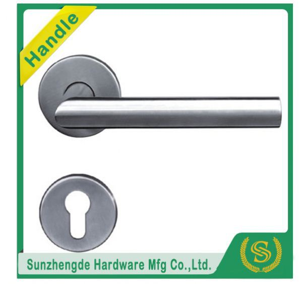 SZD STH-104 Top Quality Stainless Steel Hollow Solid Lever Handle On Sprung Rose with cheap price