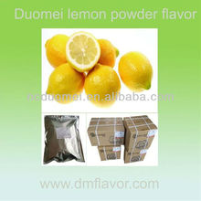 Lemon fruit flavor powder