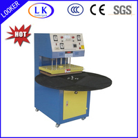 turnable heat sealing machine for plastic blister and clamshell