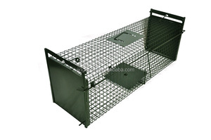 Middle-Sized Metal Rat Trap Cage, Wild Cat Fox Trap cage, Mole Trap JL-2010C