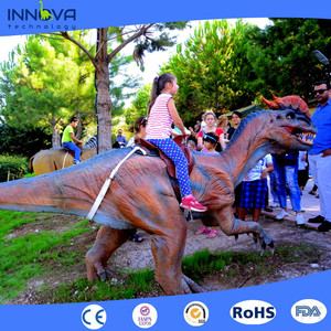 Innova-Electronic game machine used amusement walking dinosaur rides