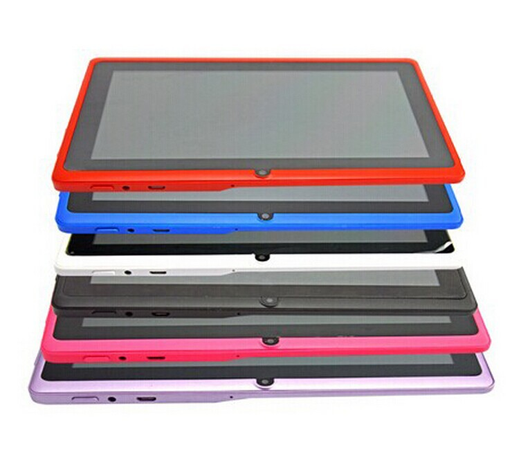 2017 Quad core Q8 tablet pc 7 inch A33 Android4.4 mid 2 cameras 512MB/4G from Shenzhen Manufacturer