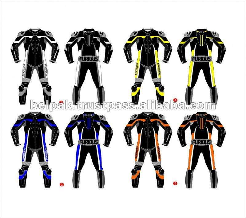 Race Motorcycle Leather Suits