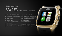 SNOPOW W1S transflective screen android 4.4 IP68 waterproof dual core android watch phone smart watch