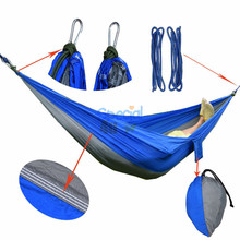 YKSP-171 2017 Hot New Products High Quality Parachute Nylon Standing Hammock, Nicaraguan Hammock Straps And Hook Attached
