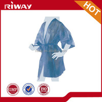 Hair salon equipment hairdressing cape disposable nonwoven Spa kimono for hair salon