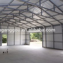 Hot Galvanized mobile garage caravan and warehouse building material