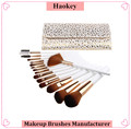 New design new product 15pcs professional cosmetic makeup brush set