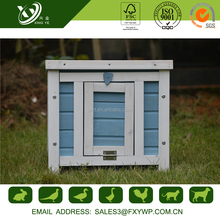 Easily Clean Large Wooden House Rabbit Cage