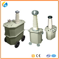 High Voltage YDJ oil immersed type Testing Transformer
