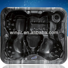 acylic indoor Hot Tub / family used/ white colour
