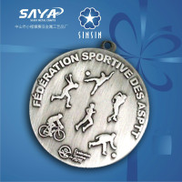 Made in China Scotland souvenir medals for excellent peroformance
