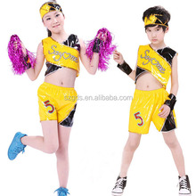 Wholesale New jazz Christmas dance costumes for girls and boys group cheerleading uniform