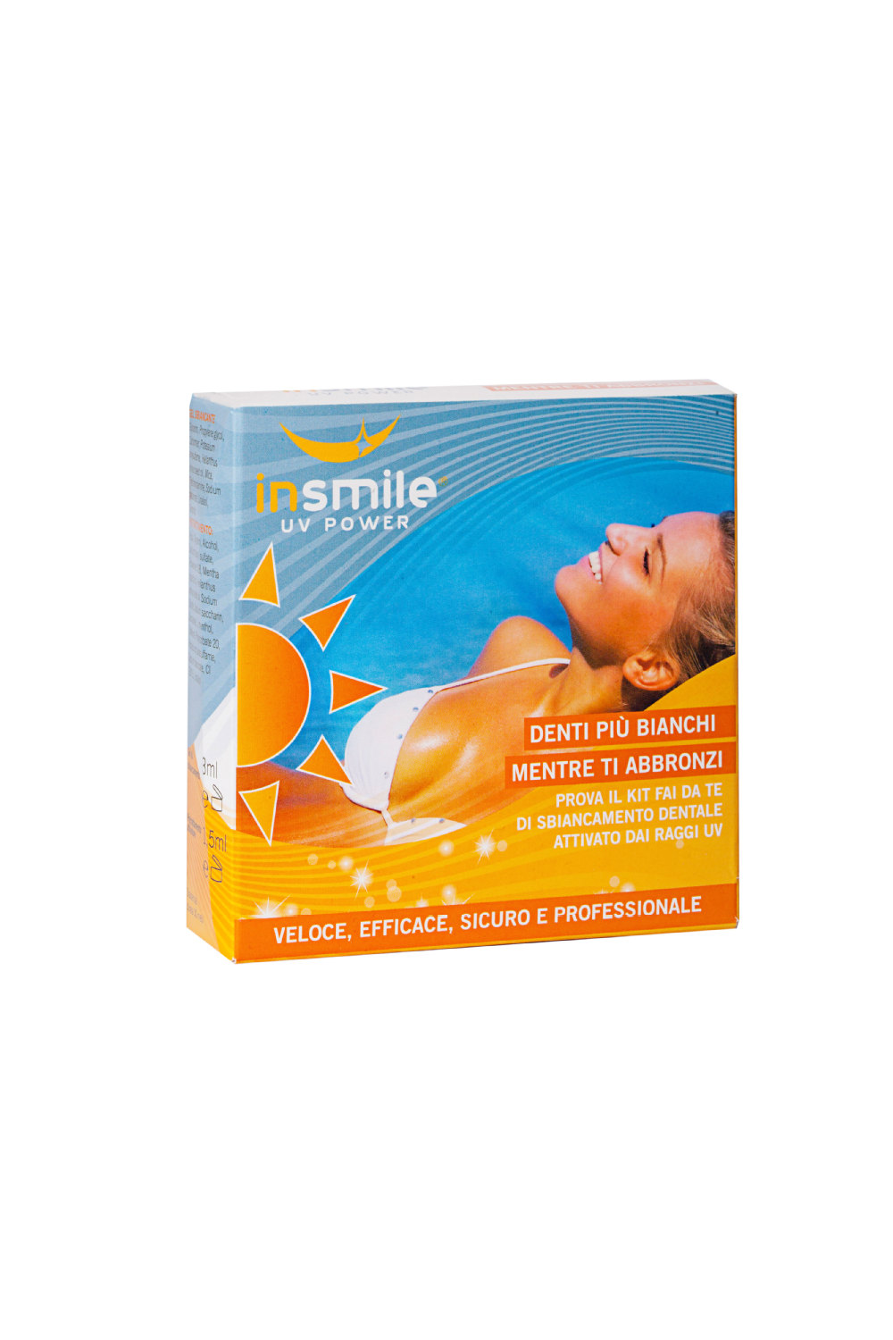SUNBED TEETH WHITENNG KIT