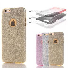 Hot New Product Candy Glitter Bling Crystal Diamond Mobile Phone Case Cover For iphone 6 case