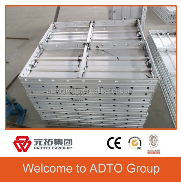 New Designed Aluminum concrete columns mold