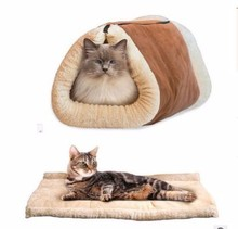 Wholesale cheap plush cat pet houses factory