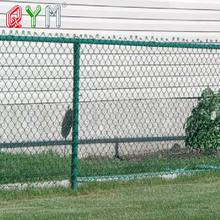 Alibaba china hot dip galvanized perimeter security used chain link fence for sale