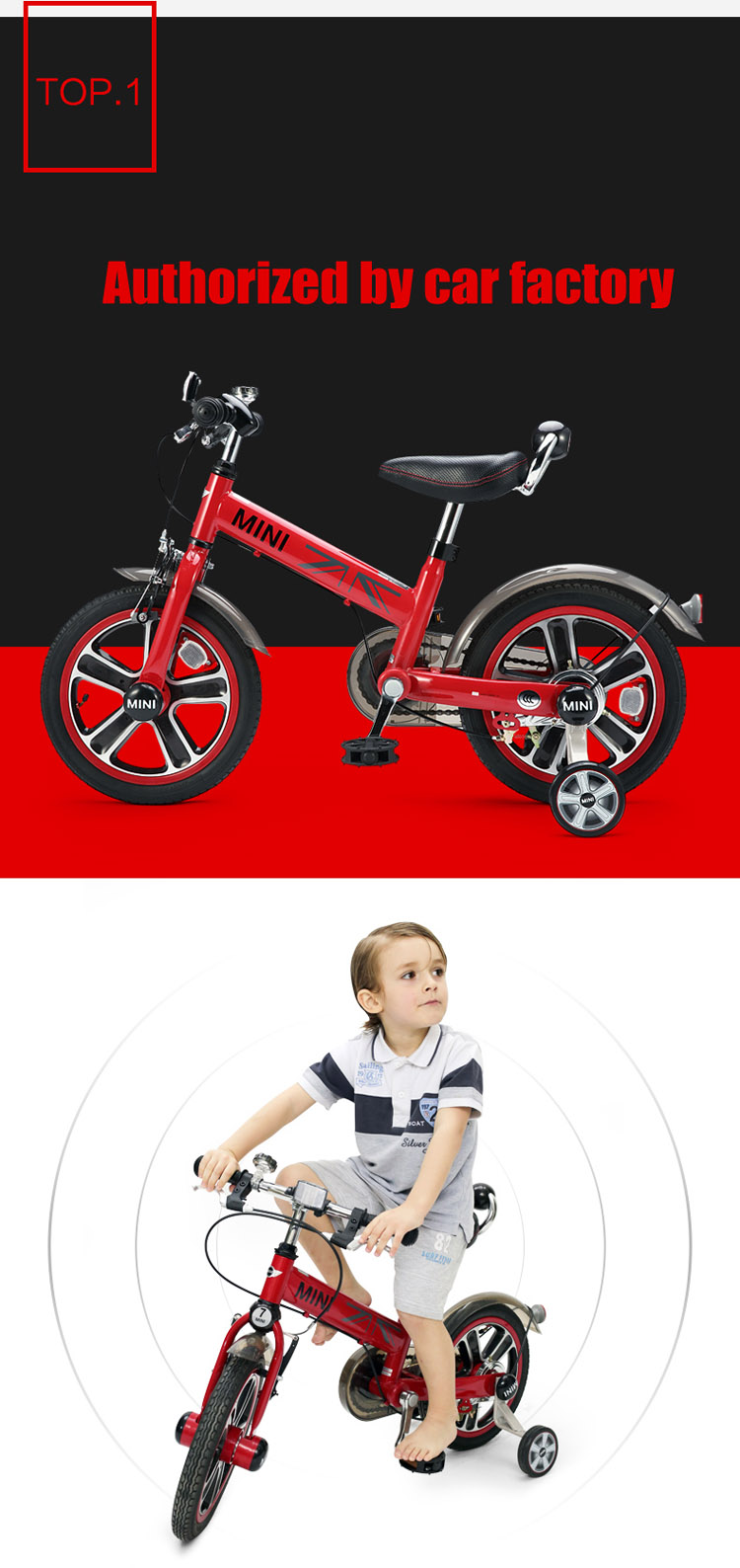 RASTAR MINI balancing bike for kid 14 inch bicycle for sale