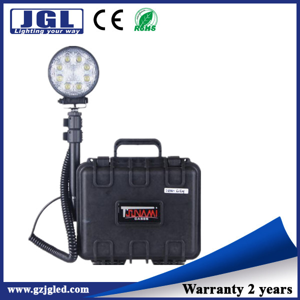 24w LED Lights for disaster management, coastal patrolling stand light