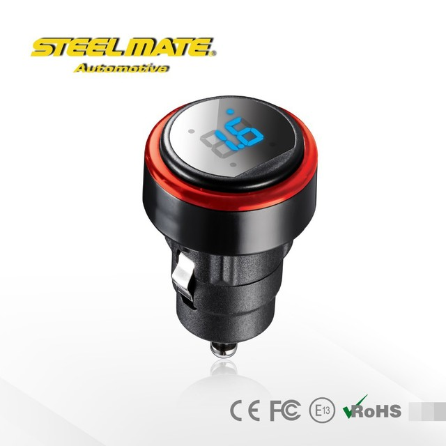 2016 Steelmate TP-72 P LED Cigarette Lighter Wireless DIY TPMS, Tire Pressure Monitoring System, air car tire pressure