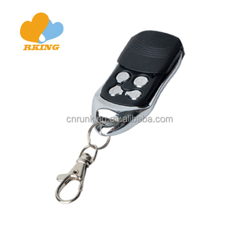 Fixed Code Variable Frequency 4 Button rf Gate Garage Remote Control duplicator copy face to face