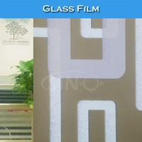 M003 Self Adhesive Decorative PVC Colored Glass Film Window Paper