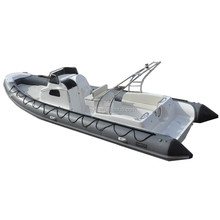 Liya 27ft inflatable cabin boats hypalon fabric luxury yacht sales