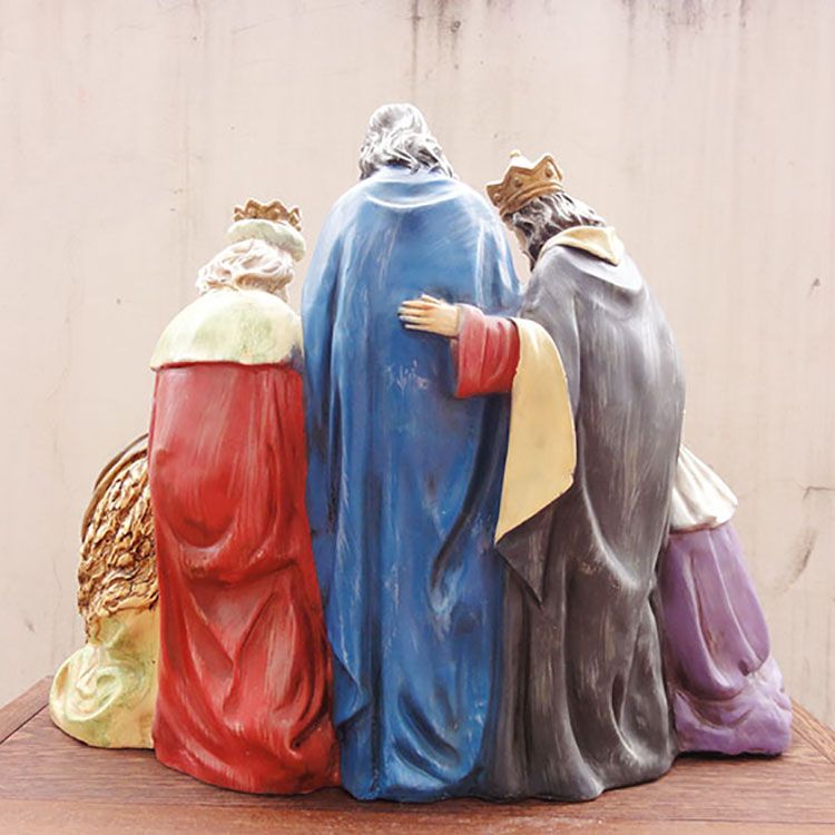 Chinese Supplier Polyresin Nativity Set Figurines