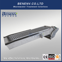 Totally Stainless Steel 304 Wastewater Treatment Mechanical Fine Bar Screen