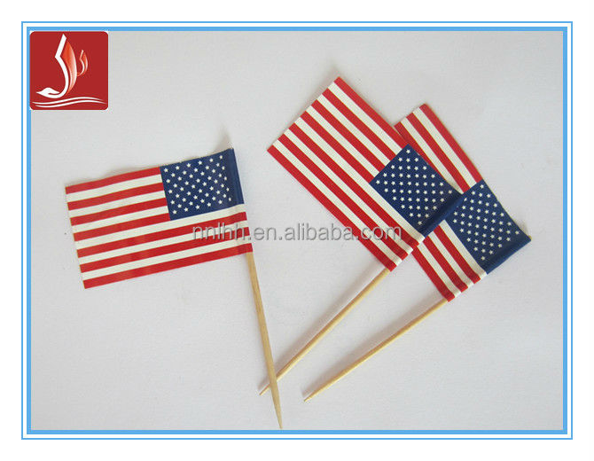 top sale American flag toothpicks