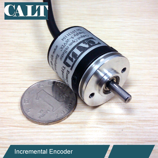 Mini encoder 5vdc 500 pulsos 30mm outer dia 4mm shaft optical rotary encoder