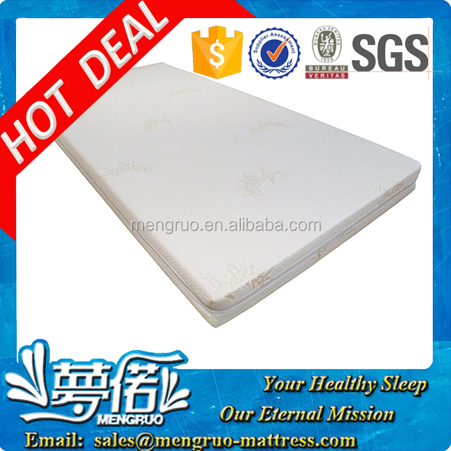 healthy material baby crib thin latex mattress topper