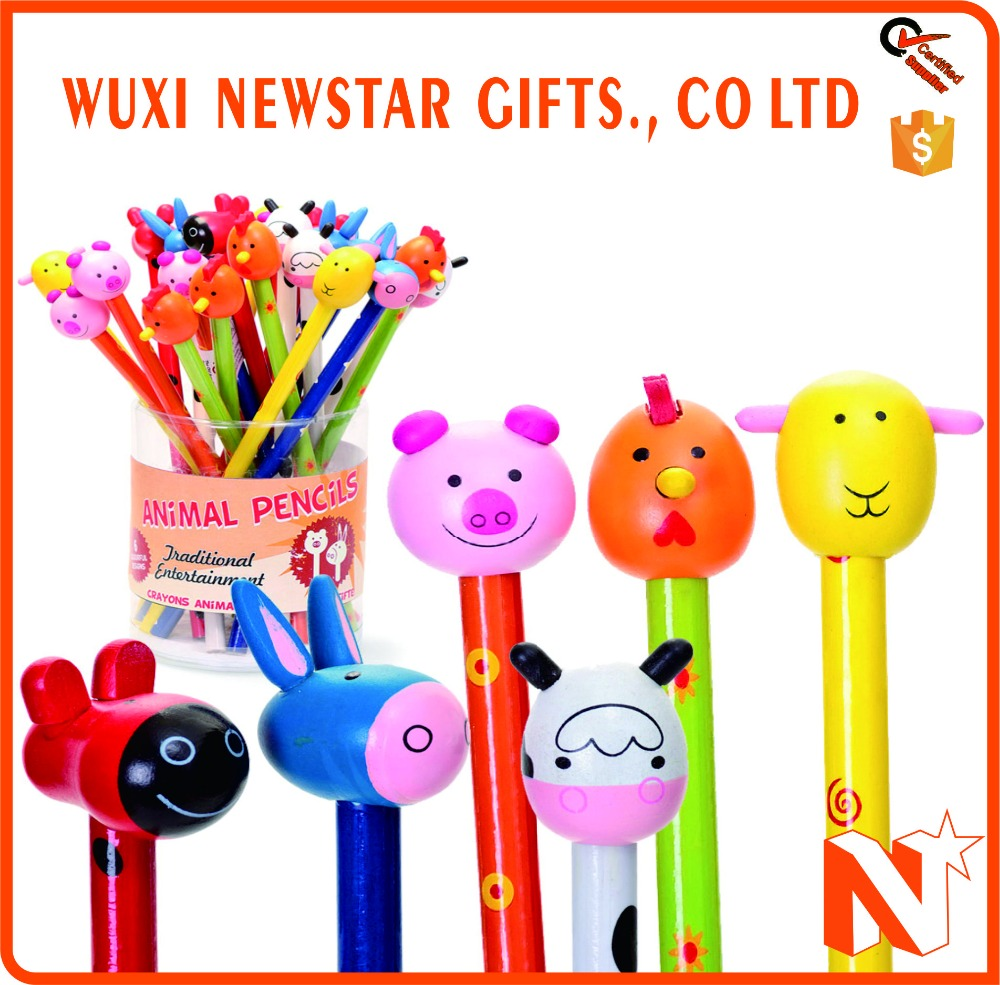 Low Price Wholesale Hot Sale Promotion Animal Pencil
