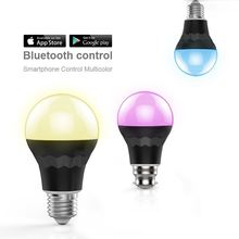 led oem manufacturers,low price 7 w rgb led bulbs e27 color changing control by SmartPhone