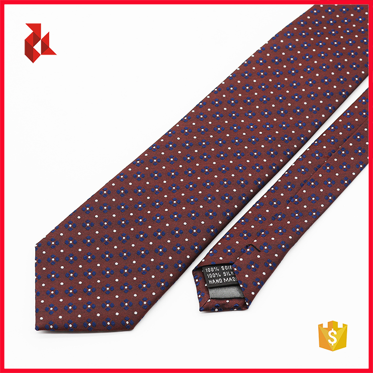 Mens Fashion Floral 100% Silk Ties