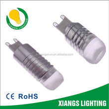 DC 12V 3W Metal 80-90Lm LED Light G9 Socket