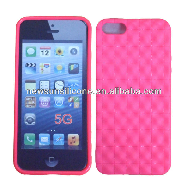 "colorful grid case for iphone5/case for apple iphone 5/for iphone 5"" accessories"