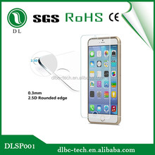 The newest product screen protector fro iphone 6 toughened glass protection film for iphone 6