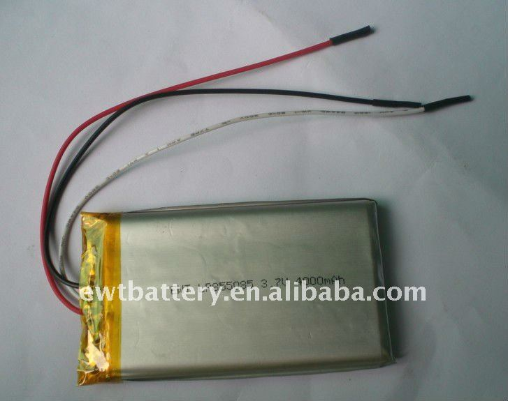 Supply 3.7V 4000mAh Li Ion Polymer Battery OEM