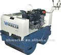 WKR600 steering walk behind road roller hydraulic drive by Japan pump