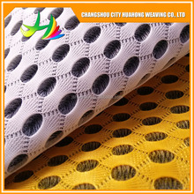 sandwich mesh fabric polyester,3d mesh fabric waterproof, on the stiffening agent