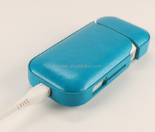 2017 Hot selling iQOS leather cover hard case for iQOS E-cigarette