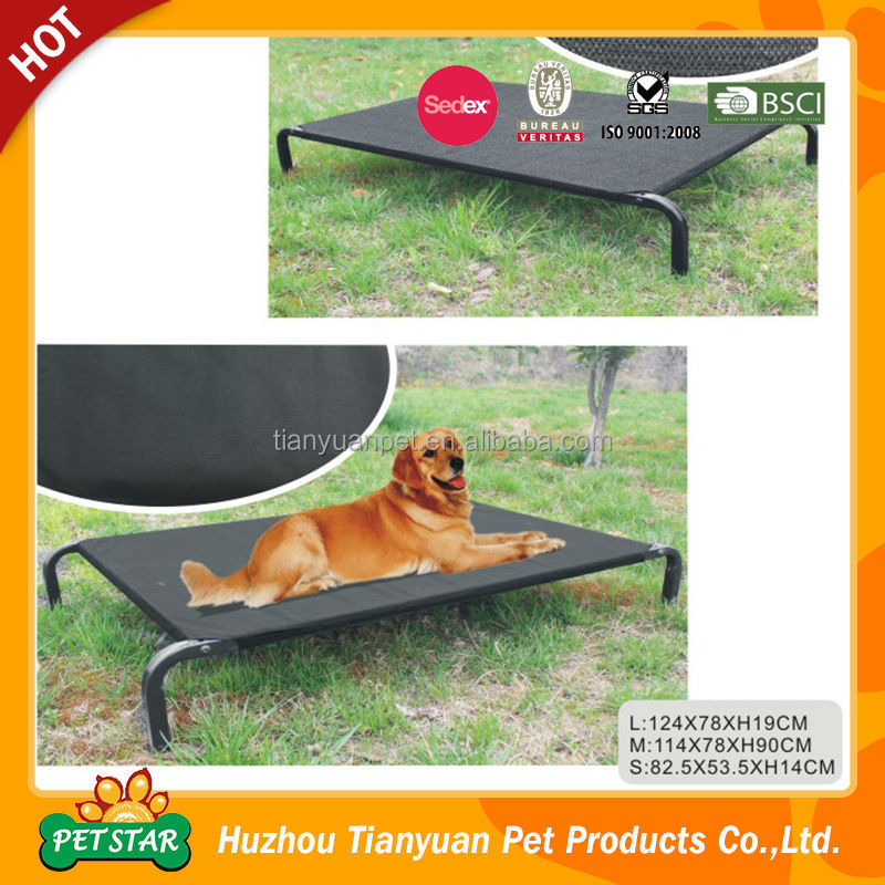OEM Factory Supply Cheap Outdoor Wrought Iron Elevated Pet Bed Luxury Pet Bed