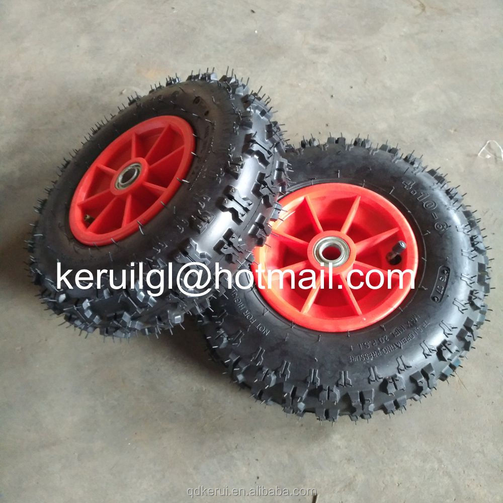 beach cart rubber tire 4.10-6