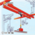 0.5ton kbk model european style double girder light bridge crane
